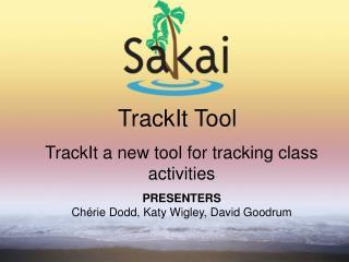 TrackIt Tool