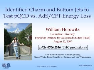 Identified Charm and Bottom Jets to Test pQCD vs. AdS/CFT Energy Loss