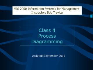 Class 4 Process  Diagramming