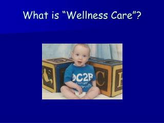 What is  Wellness Care