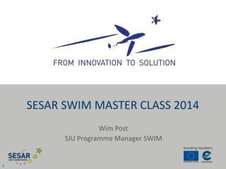 SESAR SWIM Master Class 2014
