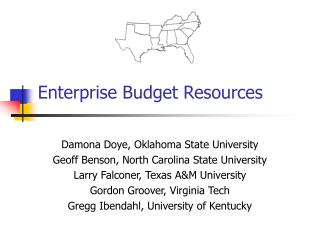 Enterprise Budget Resources