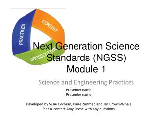 Next Generation Science Standards (NGSS) Module 1