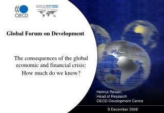 Helmut Reisen,  Head of Research OECD Development Centre