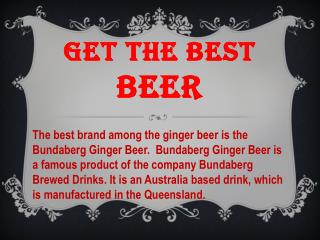Get The Best Beer