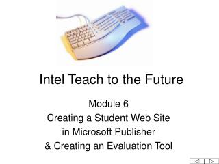 Intel Teach to the Future