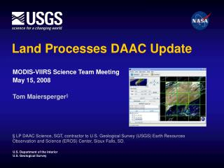 Land Processes DAAC Update