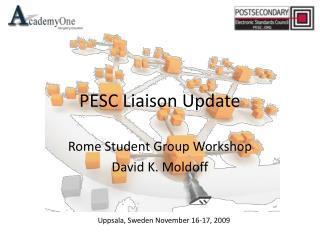 PESC Liaison Update