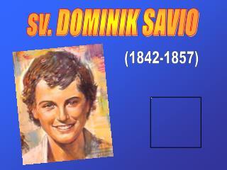 sv. DOMINIK SAVIO