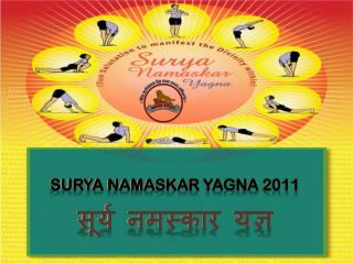 Surya  Namaskar Yagna  2011 सूर्य नमस्कार यज्ञ