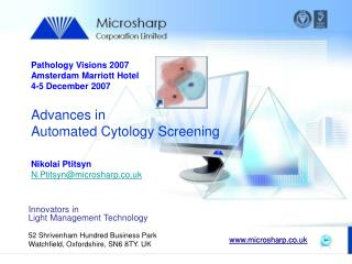 Advances in Automated Cytology Screening