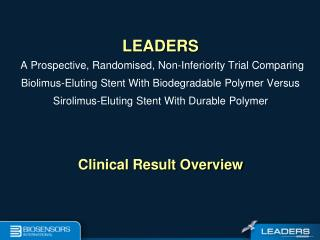 Clinical Result Overview
