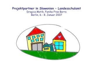 Arbeitstreffen mit den Vertretern des Elternbeirats in  der  Grundschule Kapela  Ziele:
