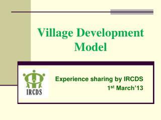 Village Development Model
