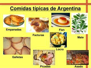 Comidas t�picas de Argentina