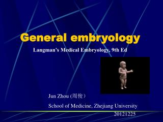 General embryology