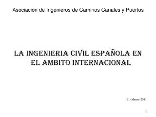 Asociaci�n de Ingenieros de Caminos Canales y Puertos