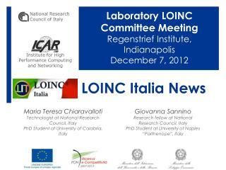 LOINC Italia News