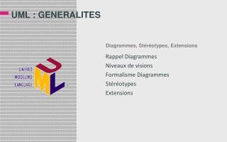 UML : GENERALITES