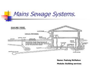 Mains Sewage Systems.