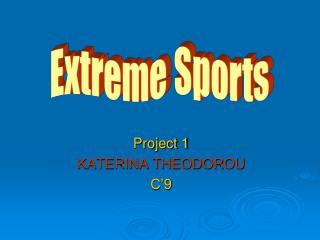 Project 1 KATERINA THEODOROU C'9