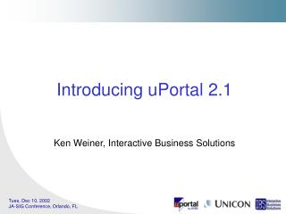 Introducing uPortal 2.1