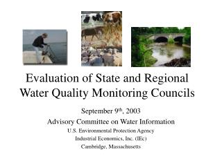 Evaluation of State and Regional Water Quality Monitoring Councils
