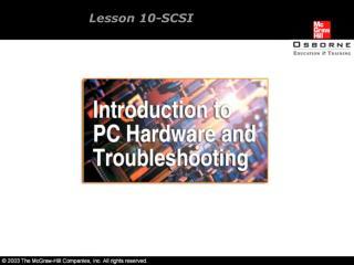 Lesson 10-SCSI