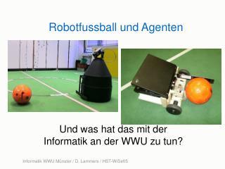 Robotfussball und Agenten