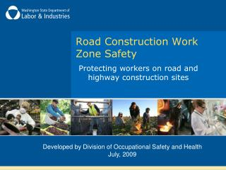 Road Construction Work Zone Safety