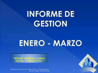 Secretaria de Planeaci n Obras P blicas y Control Interno - Patricia Ca  n, Nohora Benitez