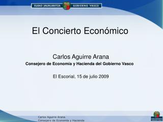 El Concierto Económico