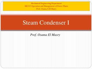 Steam Condenser I