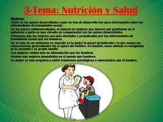 3-Tema: Nutrición y Salud
