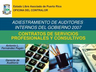 CONTRATOS DE SERVICIOS PROFESIONALES Y CONSULTIVOS