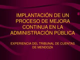 CONSTITUCIÓN PROVINCIAL CAPÍTULO QUINTO Del Tribunal de Cuentas de la Administración Pública