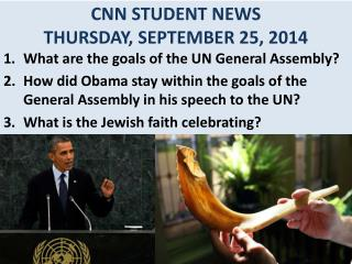 CNN STUDENT NEWS THURSDAY, SEPTEMBER 25, 2014
