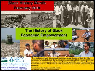 The History of Black Economic Empowerment