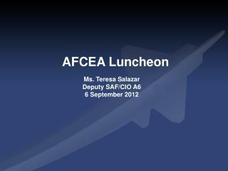 AFCEA Luncheon