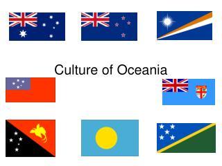 Culture of Oceania