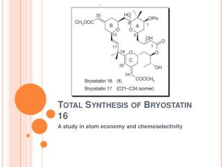 Total Synthesis of Bryostatin 16