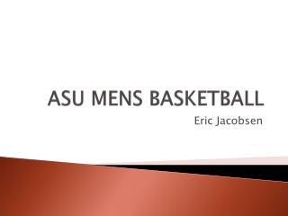 ASU MENS BASKETBALL