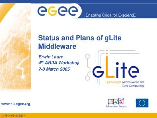 Status and Plans of gLite Middleware