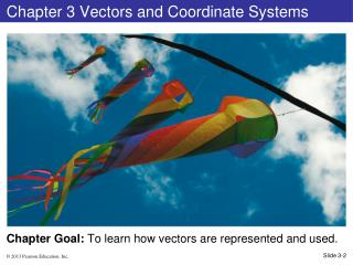 Chapter 3 Vectors and Coordinate Systems