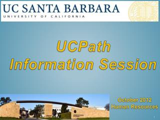 UCPath  Information Session
