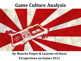 Game Culture Analysis