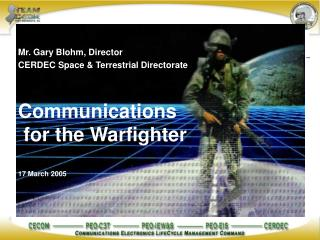 Communications   for the Warfighter