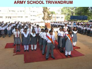 ARMY SCHOOL TRIVANDRUM