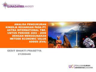 GESIT BHAKTI PRASETYA 21208446