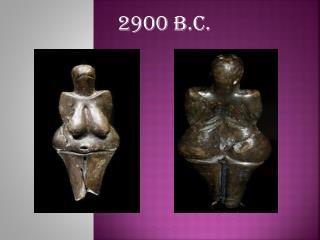 2900 B.C.